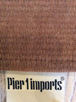6 x 9 Area rug. Pier One Imports. Brown Very Durable