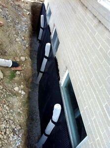 Specializing in Waterproofing Weeping Tile Cracks Parging London Ontario image 4