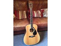 Yamaha acoustic guitar FG365S ii
