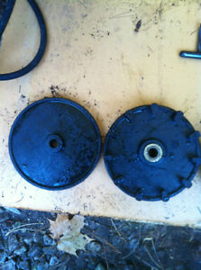 YAMAHA YS624 SNOW BLOWER WHEEL COGS CABLE COVER AND SHOOT SHAFT Windsor Region Ontario image 3