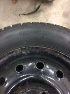 185/65/14  Cooper Winter tires and rims x 4 Stratford Kitchener Area image 5