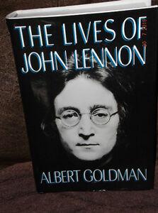 THE LIVES OF JOHN LENNON - ALBERT GOLDMAN