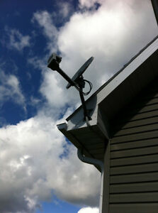 satellite TV service and installation at the cottage or trailer