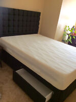 Brand New Dormeo Octaspring Queen Storage Platform & Mattress