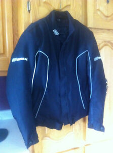 Ladies Size Small ONIX  Motorcycle Jacket with Removeable Liner