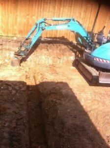 Tim's excavations $550 flat rate