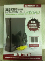 Xbox 360 Slim Non-Contact Charger (Brand New)