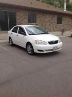 Toyota Corolla 2005 great condition both inside and outside