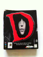 D (D no Shokutaku) PC horror adventure video game Acclaim in box