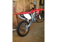 Honda CRF450R 2007. New Crank and Piston