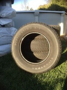 All seasons Firestone A/T tires for sale - 275 65R18 Gatineau Ottawa / Gatineau Area image 1