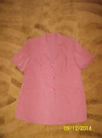 Women's summer pink suite, large size