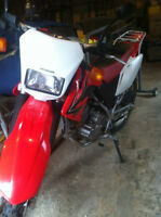 HONDA CRF230, 2008 semi-route,semi-trail