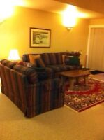 Short term fully furnished executive 1Bd lease