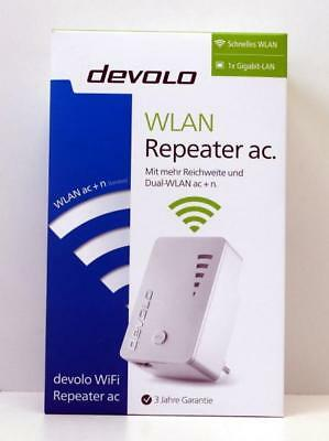devolo WiFi Repeater ac (1200 Mbit/s, 1x Gigabit Ethernet LAN Port