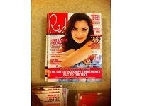 Red magazines 2008-2013