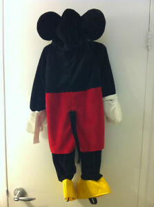 New Disney Mickey Mouse Costume Child Size 18-24 mos