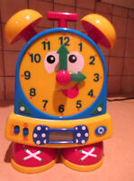 Telly The Teaching Time Clock - In English Only