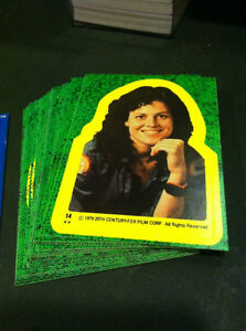 ALIEN 1979 TOPPS CARD & STICKER SET + WRAPPER VINTAGE Oakville / Halton Region Toronto (GTA) image 3