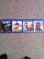Advanced Warfare and other PS4 games for sale