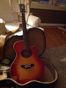 Yamaha acoustic Guitar  Kitchener / Waterloo Kitchener Area image 3