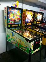 The Simpsons Pinball Machine 1990 Data East Arcade Collectible