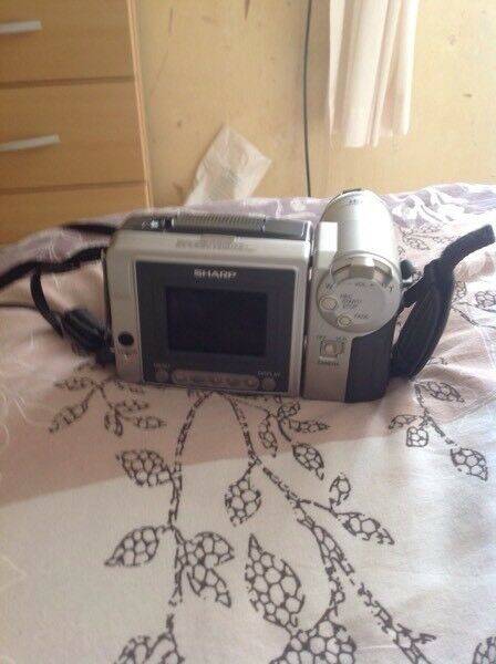 Sharp camcorder