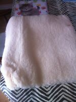 Medical sheepskin wheelchair/seat cover/bed pad