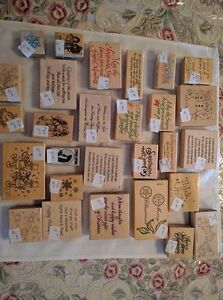 Assorted Christmas-Themed Rubber Stamps - $1.00 and Up Kawartha Lakes Peterborough Area image 6