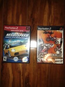 2 PlayStation 2 games