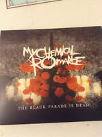 My chemical romance-the black parade cd dvd concert