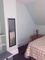 All inclusive/furnished 300 sq ft room available