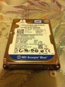 Wd 160gb laptop hd