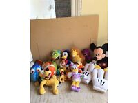 Disney Characters Soft Toys