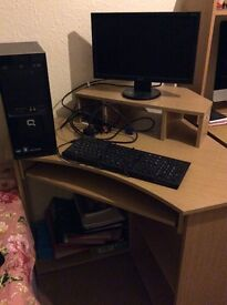 Compac PC and desk