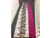 Luxurious 'Harlequin' fabric curtains
