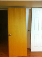 Four interior doors for sale