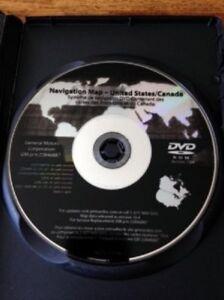 GM North America Navigation LATEST DVD Map GPS Update Part# 22846887 10.4 v10.4