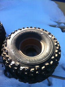 SUZUKI LT230 ITP REAR RIMS W DICK CEPEK SPIDER TRAC TIRES Windsor Region Ontario image 4