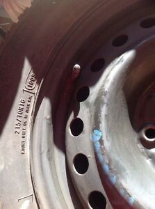 Winter tires and rims for 1999-2004 Odyssey $375 West Island Greater Montréal image 2