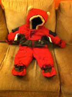 Snowsuit with accessories (size : 9 months)