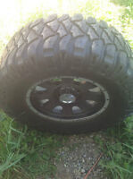33 inch mickey thompsons on 17s mint $250