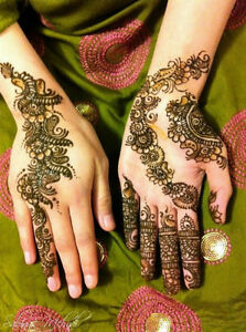 Professional Henna Designer Mehndi tattoo for bridal Windsor Region Ontario image 2