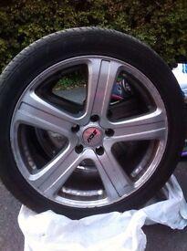 "Alloy wheels 18"" traffic, vivaro"