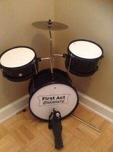 Drum set for a child
