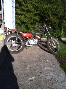 1971 Kawasaki Endro On Off Road Bike