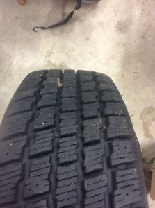 185/65/14  Cooper Winter tires and rims x 4 Stratford Kitchener Area image 3