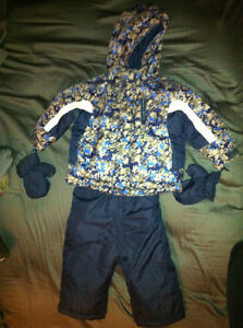 Toddler Alpinetek Snowsuit (Suitable for either girl or boy)