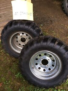 ATV tires and rims Campbell River Comox Valley Area image 1