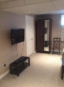 Basement suite fully furnished
